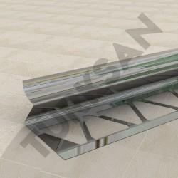 Internal Corner Tile Trim Profile