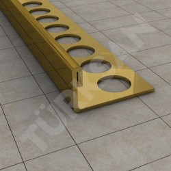 Straight Edge Tile Trim Profile