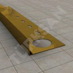 Open Square Edge Tile Trim Profile
